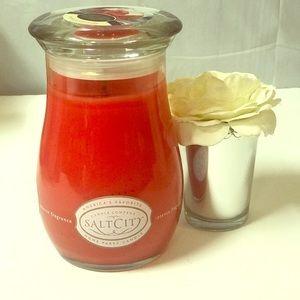 Salt City Candle Strawberry Shortcake.